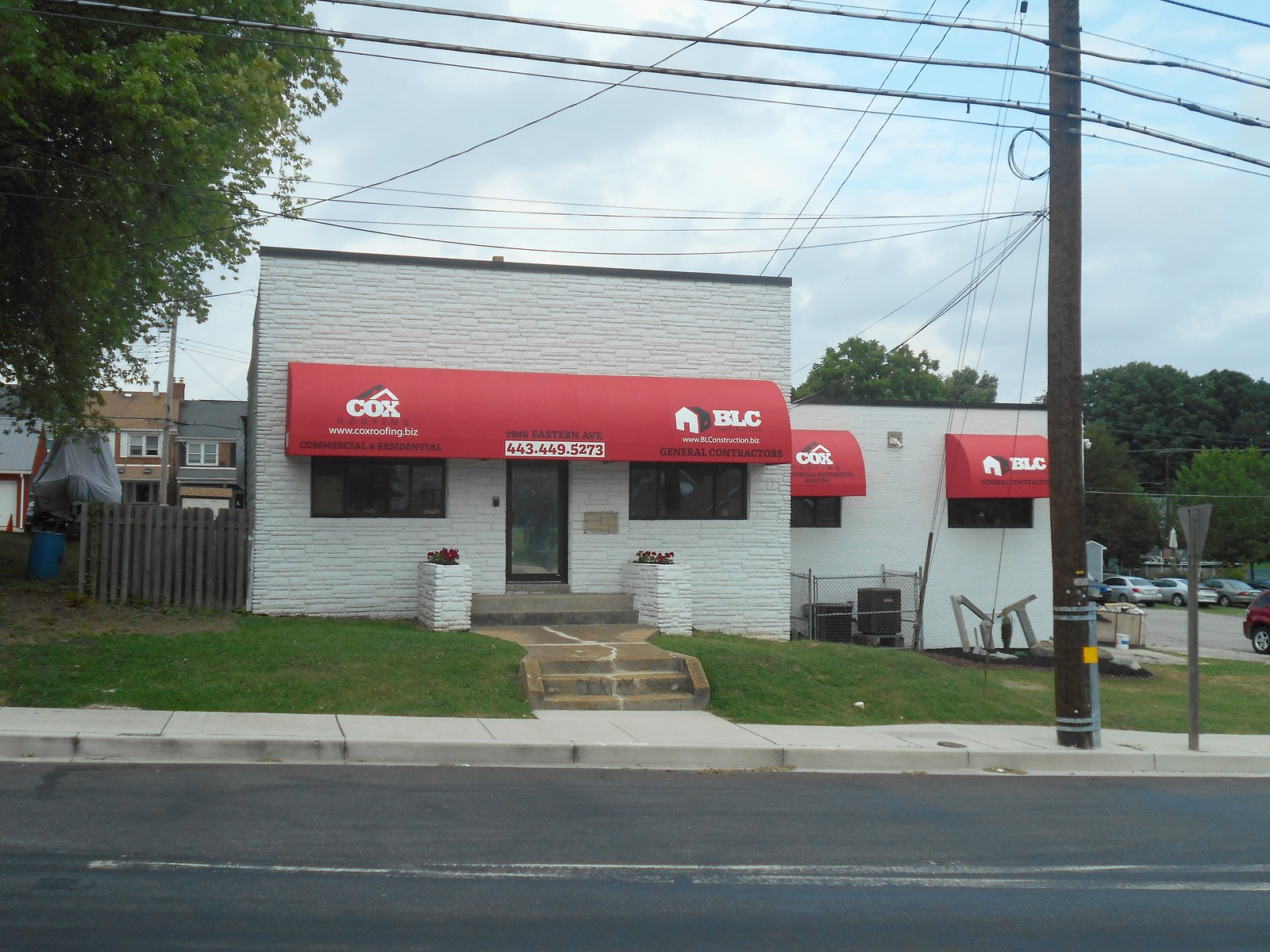 Building-Storefront and Window Awnings