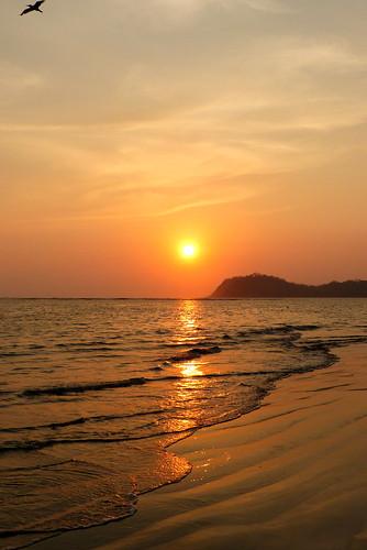 costarica soleil coucherdesoleil océan