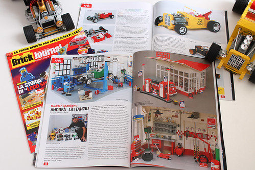 Brick Journal Italia # 6 presents Norton74's cars and garages | by Andrea Lattanzio