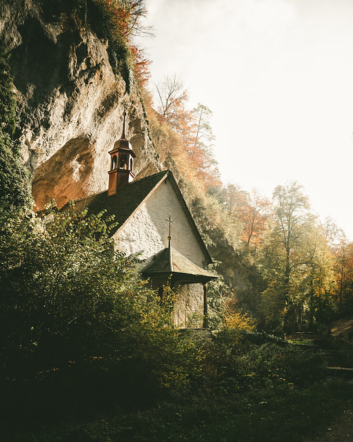 Chapel in a Rock - Hermitage