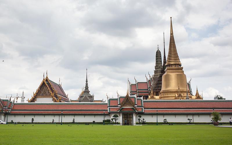 Wat Phra Kaeow, Bagkok, Thailand