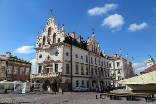 Rzeszów town hall   by conskeptical