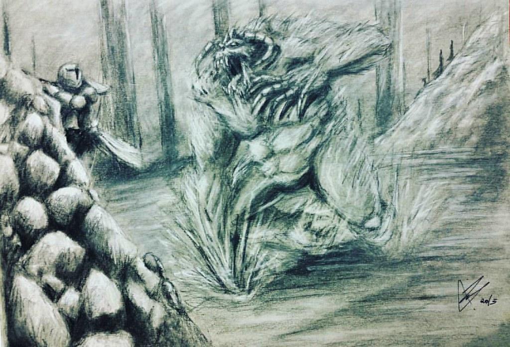 Fantasy Art Ogre