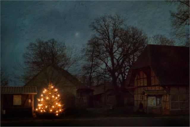 Christmas - Ick wünsch ok fröhliche Wihnacht, Gesundheit un Fräden,  väl Glück un een langes Läben un dornah de ewige Säligkiet!