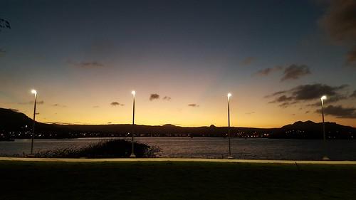 sunset dominicanrepublic malecon puertoplata silvester2015
