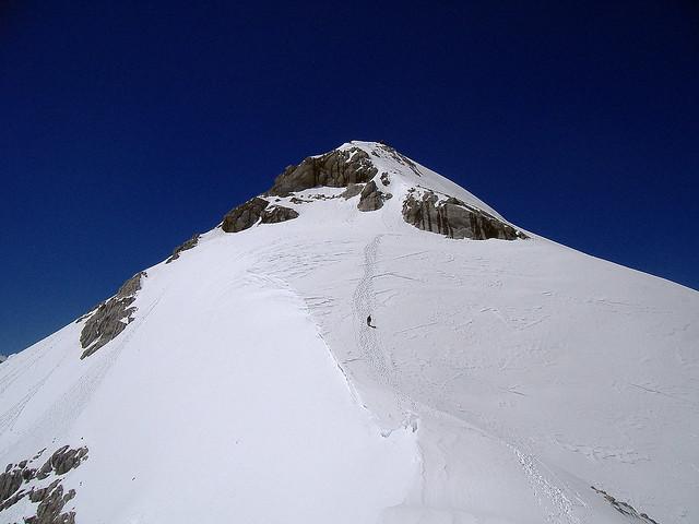 Pico Tesorero: la pirámide blanca