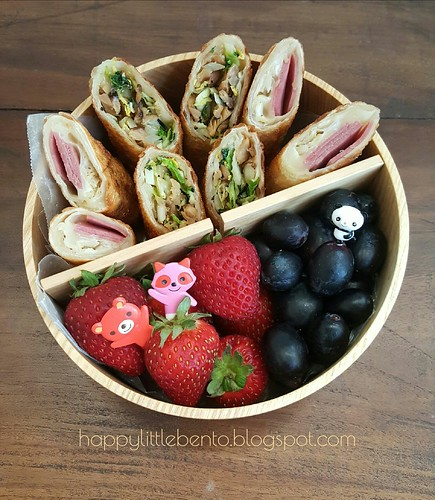 Pastrami Egg Roll Bento | by sherimiya ♥