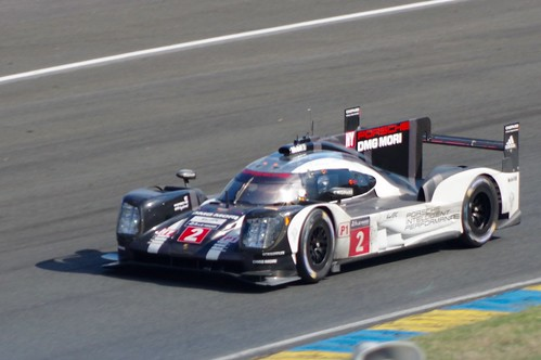Porsche Team's Porsche 919 Hybrid Driven by Marc Lieb, Romain Dumas and Neel Jani | by Dave Hamster