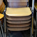 Wood stacker chair