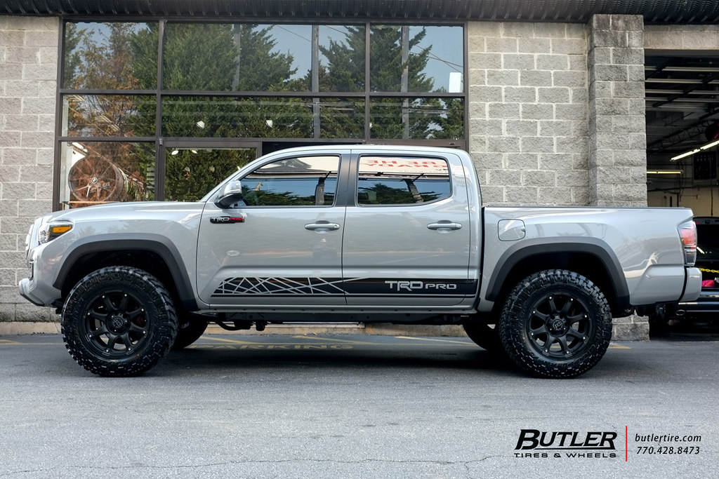 Toyota Tacoma Trd Pro With 18in Black Rhino Glamis Wheels Flickr