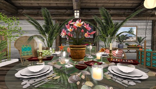 Bali Ha'i Tablescapes | by Hidden Gems in Second Life (Interior Designer)