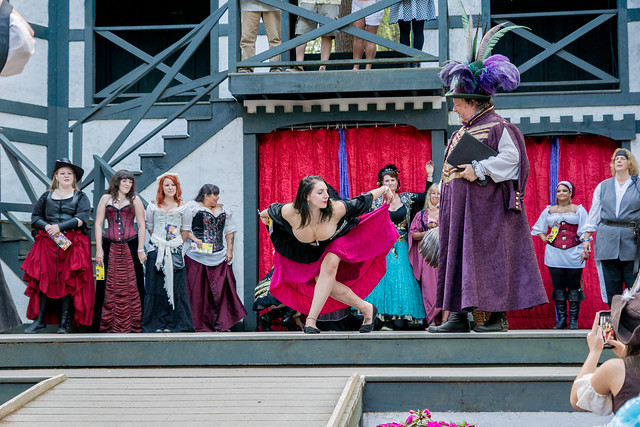 Cleavage Contest King Richard's Faire 2015