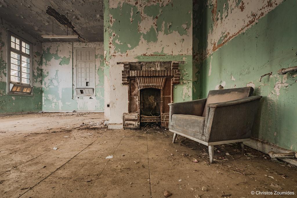 Abandoned Hospital at Amiantos Asbestos Mine, Troodos, Cyp