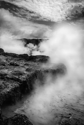 travel indonesia landscape volcano asia smoke diengplateau kawah sikidang kawahsikidang