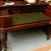 Mahogany Victorian desk needs work