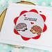 Hedgehogs Sending Congratulations by ilovestamping