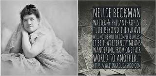 NELLIE SIMS BECKMAN #100travelHERS | by sandrakaybee