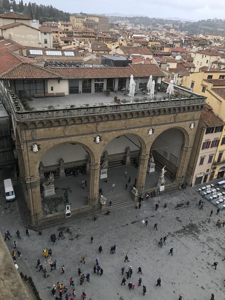 La Terrazza Palazzo Vecchio Galleria Degli Uffizi Loggi