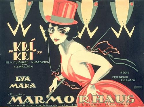 Kri-Kri, die Herzogin von Tarabac, film (1920) Marmorhaus, Berlin