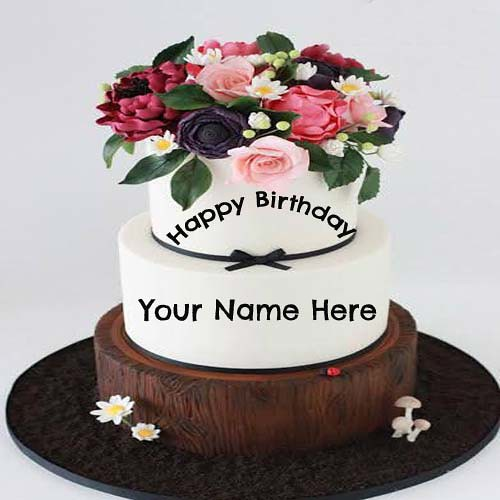 Sample Write Name On Birthday Cake For Lover Best Happy