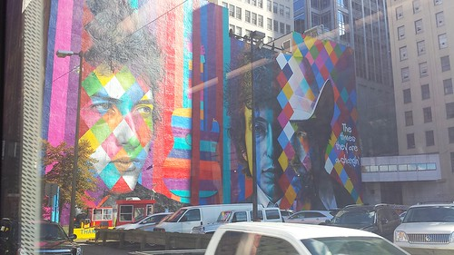 New Bob Dylan Mural in Minneapolis (253/365) | by the queen of subtle