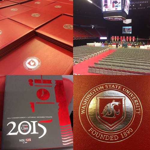 It's beginning to look a lot like #WSU commencement! See you tomorrow at 10AM in Beasley Coliseum!