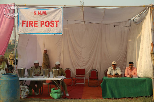 Fire Post in Samagam campus