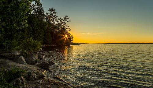 arnprior ottawariver robertsimpsonpark sunset hdr ontario canada ca