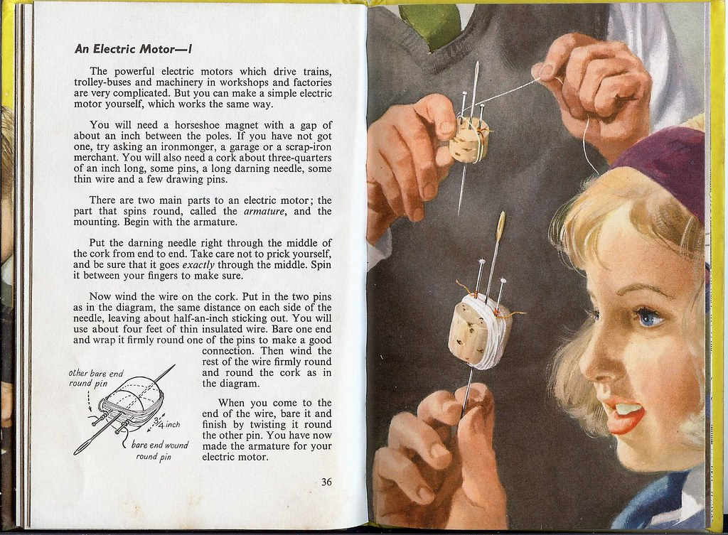 Ladybird Series 621 - Magnet Bulbs and Batteries Pages - 3… | Flickr
