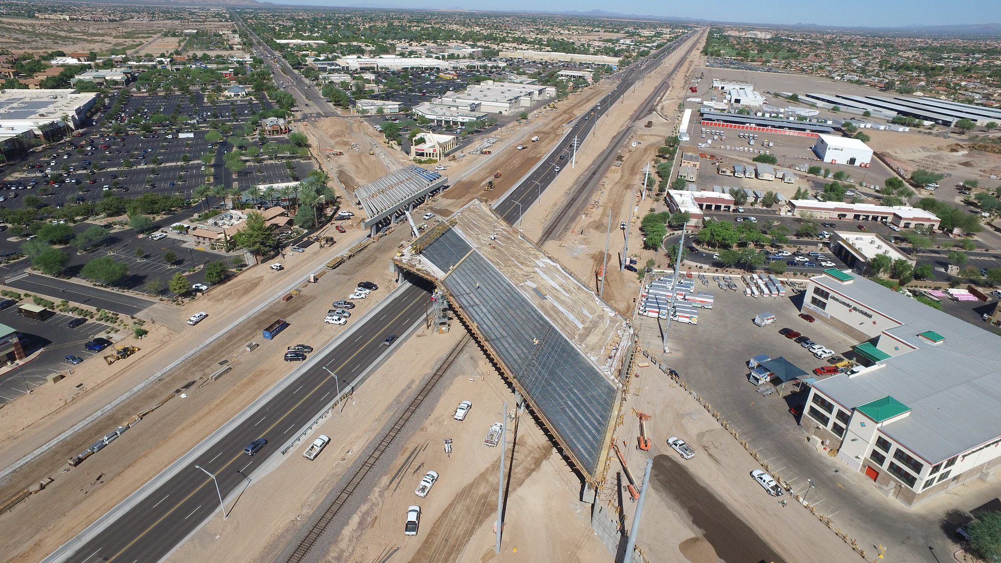 Progression of Bell Road and Grand Ave Interchange