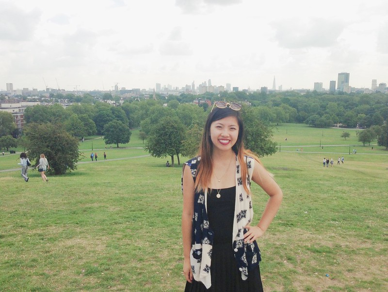 Nguyen, Dana; London, England - London Above and Beyond, Top of Primrose Hill in Camden