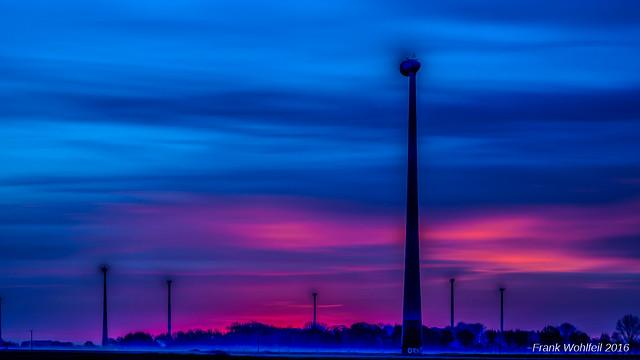 Sonnenaufgang nähe Coesfeld