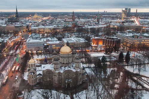 500d landscape urban anicentandmodern attraction birdseyeview canon canon500d cathedral christmas christmasmarket church contrast europe festive ice latvia local newandold oldandnew oldtown outdoor riga scenic sky skyline snow square stalls tourist townsquare travel winter rīga