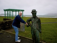 Picking Mr Chaplin's pocket