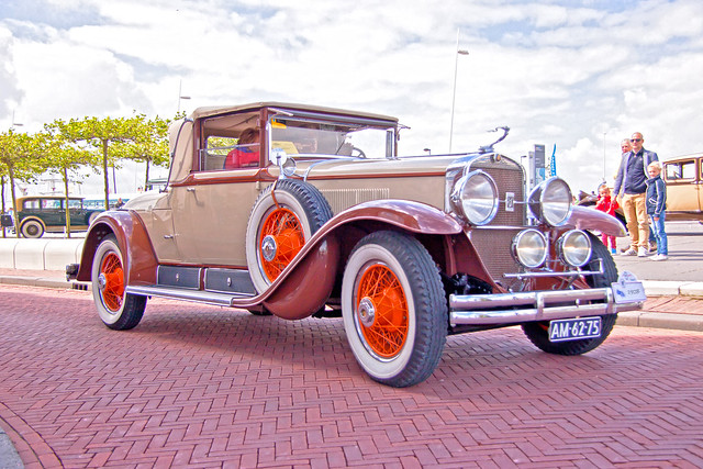 Cadillac 314A - 28 Series Longbody Convertible Fisher body 1928 (6752)