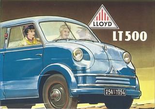 1954 Lloyd LT500 station wagon
