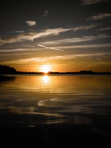 sunset summer sky sun lake reflection nature silhouette yellow clouds landscape island grey outdoor horizon shades aluksne latvija daba ezers ainava alūksne flickrunitedaward