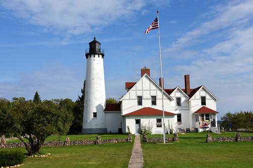 lighthouse point michigan iroquois chippewa lightstation