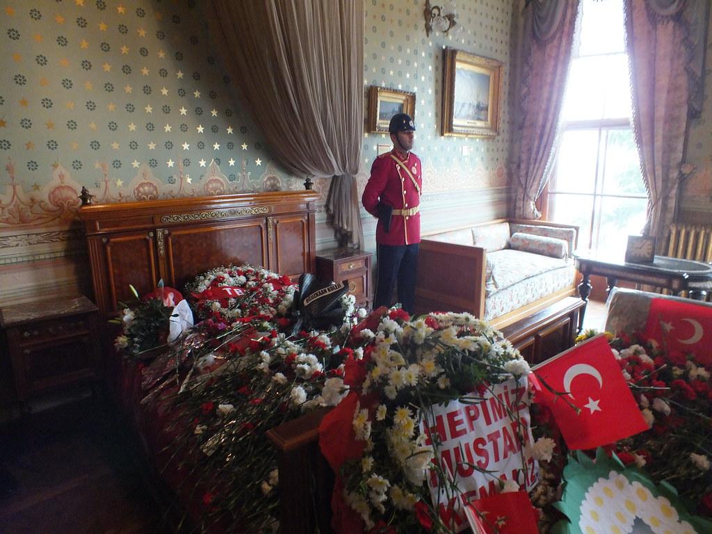 The Room Where Atatürk Passed Away