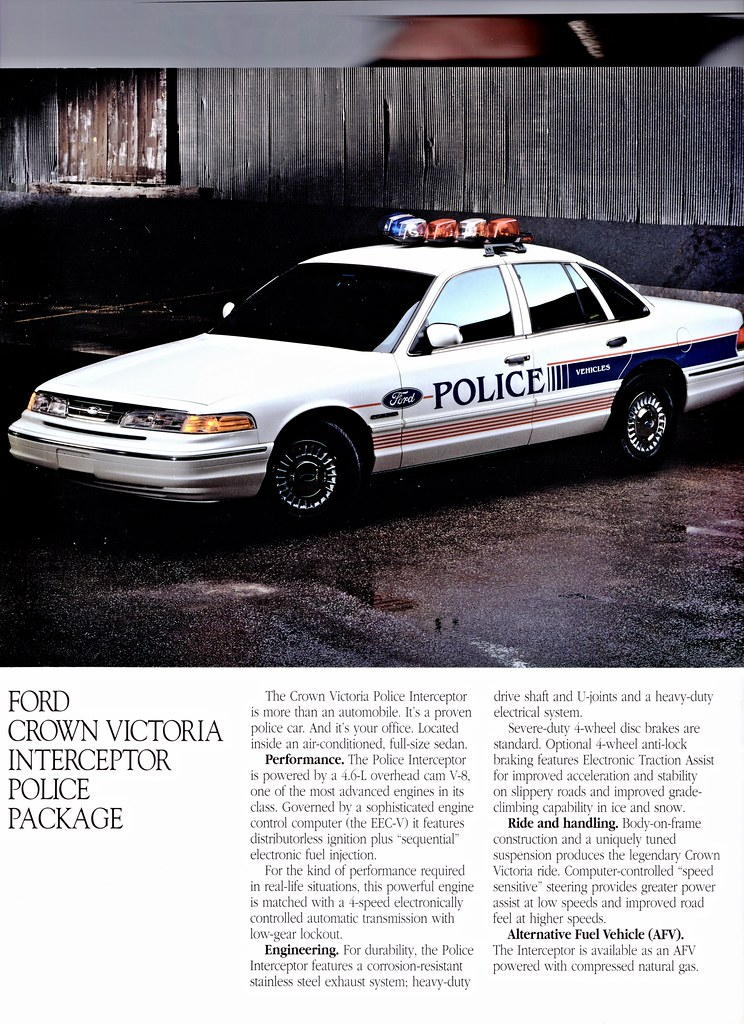 1996 ford crown victoria configurations