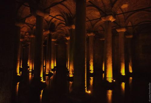 Цистерна Базилика, Стамбул / Basilica Cistern, Istanbul   by travelordiephoto