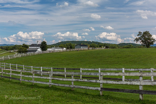 virginia albemarlecounty virginiamountains mirador fencesgates barns greatskies animals horses summer august2015 august 2015 canon24704l