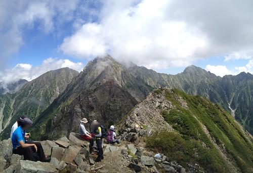 西穂高岳 山頂からジャンダルム | by ichitakabridge