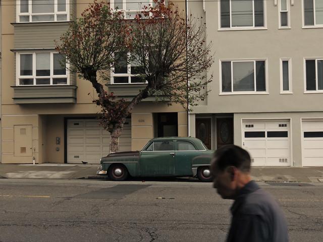 (vehicle ID?), 25th and California; The Richmond, San Francisco (2015)