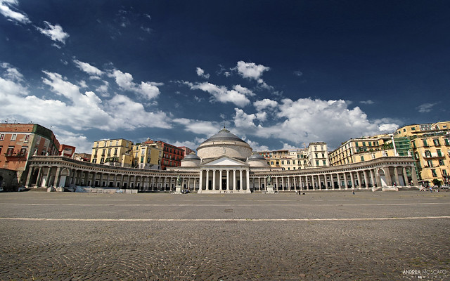Piazza del Plebiscito - Napoli (Italy)