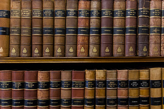 Law Books at Middle Temple Library   by futureshape