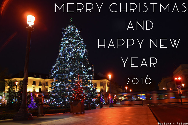 Merry Christmas and Happy New Year 2016 !