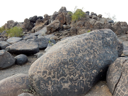 Painted Rocks Petroglyph Site
