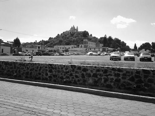 Cantona archeological site - visitor center
