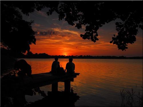 sunset lake geotagged deutschland see mood sonnenuntergang deu stimmung schleswigholstein scharbeutz klingberg geo:lat=5402611562 geo:lon=1069459223